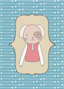 Nursery Puppy Print